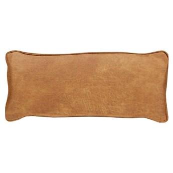 Woood :: Poduszka skórzana do sofy Bean koniakowa 30x70 cm