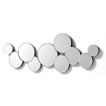 Lustro Abor 32x90 cm srebrne
