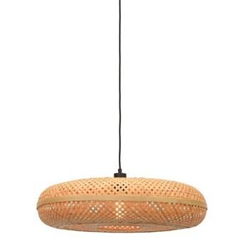 GOOD&MOJO :: Lampa wisząca Palawan brązowa śr. 60 cm