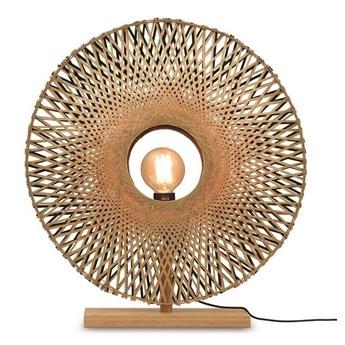 GOOD&MOJO :: Lampa stołowa Kalimantan brązowa śr. 44 cm