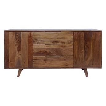 TABLE4U :: Drewniana komoda Ebba 140x40x68 - kolor bursztyn