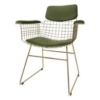 HK Living :: Zestaw 2 poduszek do krzeseł Comfort zielonych