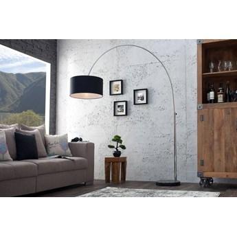 Lampa podłogowa Big Bow srebrno-czarna wys. 180 cm