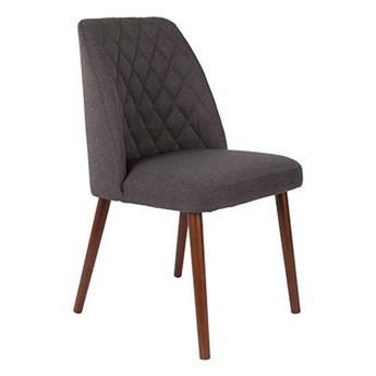 Krzesło tapicerowane Chaves szare