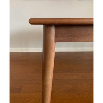 TABLE4U :: Drewniany stół rozkładany Marian 140(200)x85x78 - kolor bursztyn