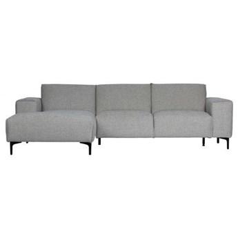 Woood :: Sofa narożna tapicerowana Linde lewa szara
