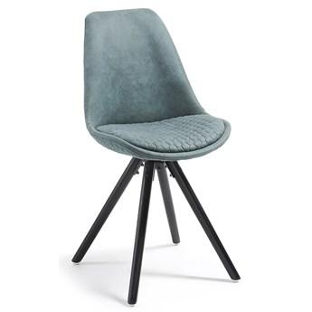 Tapicerowane krzesło Lars zielone