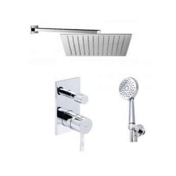 Hagendsen&Smith Zestaw podtynkowy prysznicowy z deszczownicą 30x30 cm