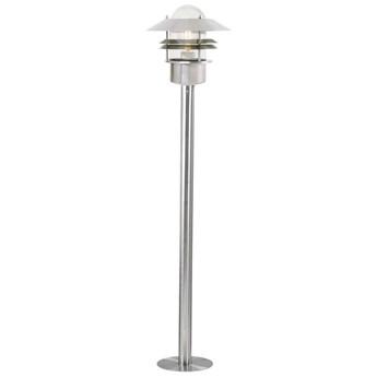 Lampa ogrodowa Blokhus ∅22x92 cm srebrna