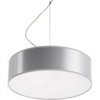 Lampa wisząca Arena 35x80 cm szara