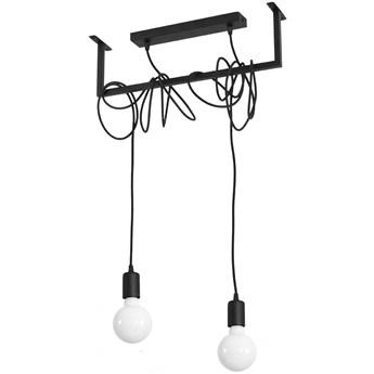 Lampa wisząca Salamanca 50x150 cm czarna