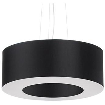 Lampa wisząca Saturno Ø50x110 cm czarna