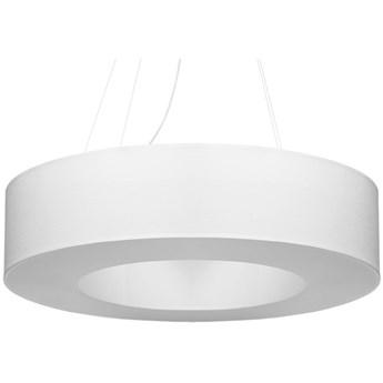 Lampa wisząca Saturno Ø70x110 cm biała