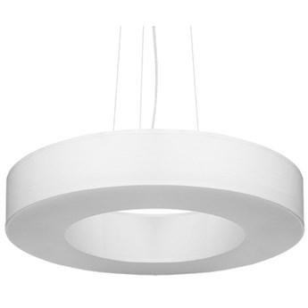 Lampa wisząca Saturno Slim Ø50x110 cm biała