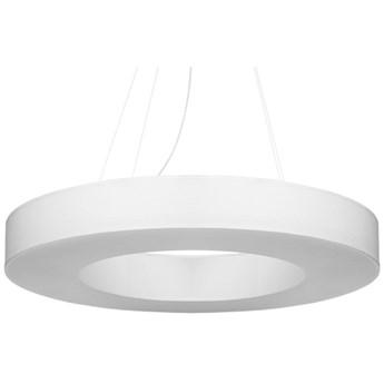 Lampa wisząca Saturno Slim Ø70x110 cm biała