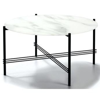 Stolik kawowy Kendall ∅84 cm biały