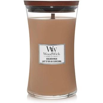 Świeca zapachowa duża Woodwick Golden Milk
