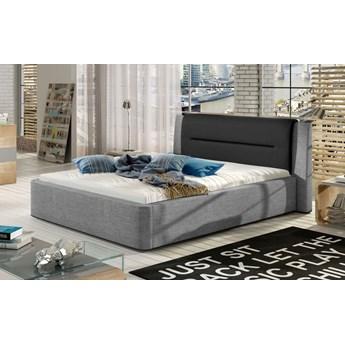 Łóżko tapicerowane Primo 140x200 z pojemnikiem - Meb24.pl