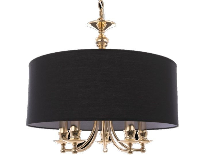 LAMPA METALOWA ZŁOTA Z ABAŻUREM DO WYBORU PRIME GOLD 50 X 100 CM Ramka na zdjęcia Kolor Czarny