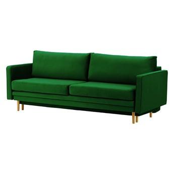 Sofa rozkładana z pojemnikiem na pościel Lioni