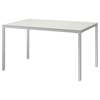 IKEA TORSBY Stół, Chrom/biały ceramika, 135x85 cm