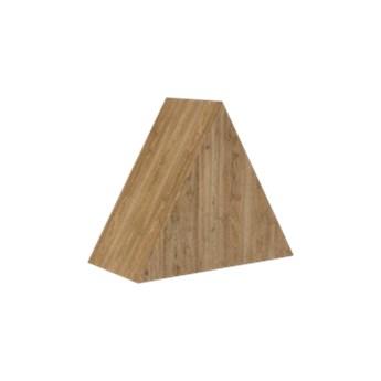Loft Decora :: Dekoracja stojąca Trójkąt naturalna szer. 20 cm