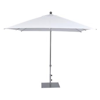 Miloo :: Parasol ogrodowy Como biały wys. 265 cm