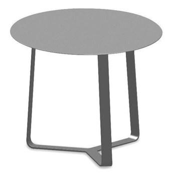 Miloo :: Stolik ogrodowy boczny Lisbon ciemnoszary śr. 57 cm