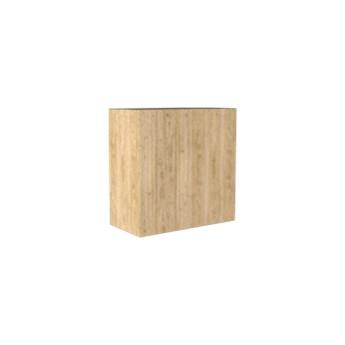 Loft Decora :: Dekoracja stojąca Kwadrat naturalna 20x20 cm