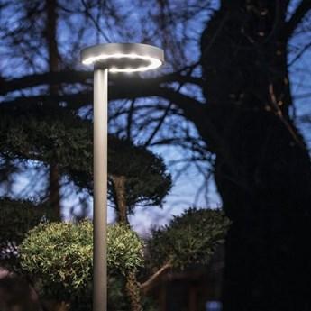 Lampa ogrodowa Pole LED ∅30x260 cm grafitowa