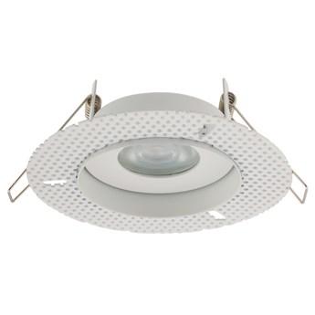 Lampa podtynkowa Echo ∅13x12 cm biała