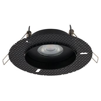Lampa podtynkowa Echo ∅13x12 cm czarna