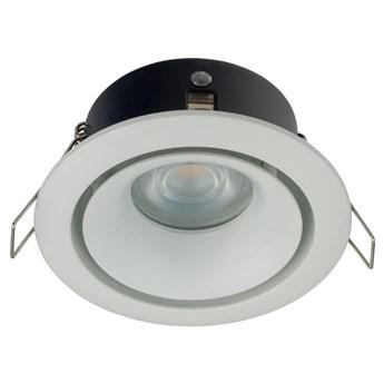 Lampa podtynkowa Foxtrot ∅10x12 cm biała