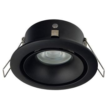 Lampa podtynkowa Foxtrot ∅10x12 cm czarna