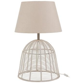 Lampa stołowa Rani Ø46x76 cm biała