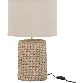 Lampa stołowa Thick Braid Ø28x47 cm naturalna