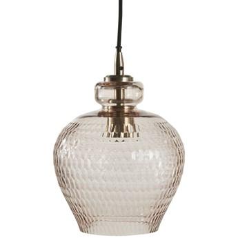 Lampa wisząca Macia Ø22x28 cm brązowa