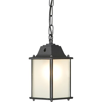 Lampa wisząca Spey 15x64 cm czarna