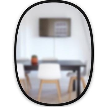 Lustro Hub Oval 61x91 cm czarne