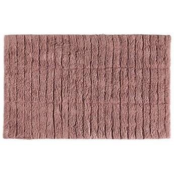 Mata kąpielowa Tiles 80x50 cm różowa