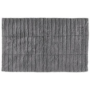 Mata łazienkowa Tiles 80x50 cm szara