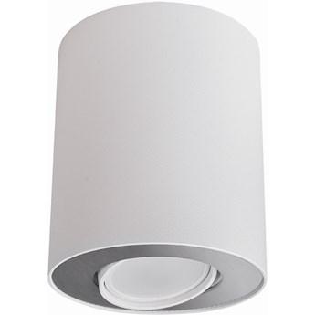 Spot Set ∅10x12 cm biało-srebrny