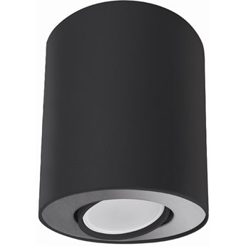 Spot Set ∅10x12 cm czarno-srebrny