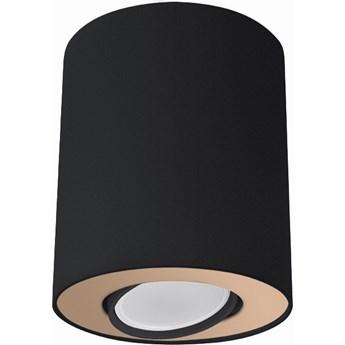 Spot Set ∅10x12 cm czarno-złoty