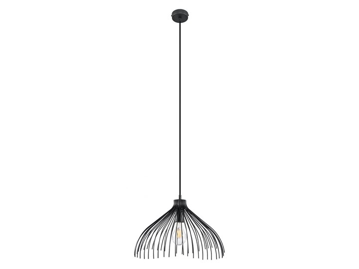 Lampa wisząca UMB czarny Lampa z kloszem Metal Stal Kategoria Lampy wiszące