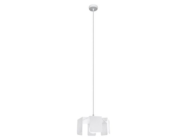 Lampa wisząca TULIP biały Stal Metal Lampa z kloszem Kategoria Lampy wiszące