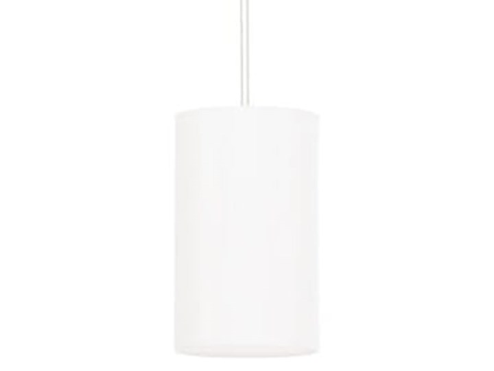 Żyrandol OTTO 15 biały Stal Tkanina Szkło Lampa z kloszem Metal Kategoria Lampy wiszące