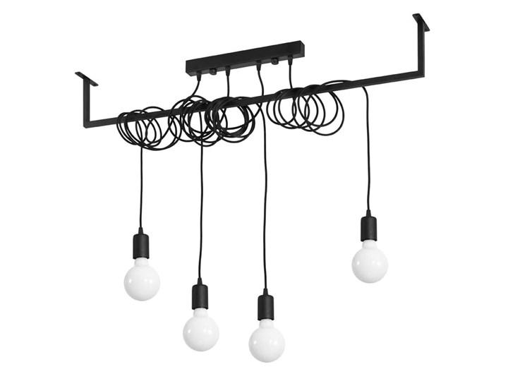 Żyrandol SALAMANCA 4 Stal Metal Tkanina Kategoria Lampy wiszące