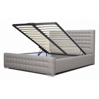 Łóżko tapicerowane LARIS 160x200  / pojemnik na pościel