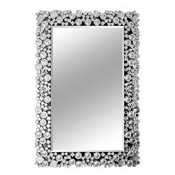 Lustro z kryształkami w stylu glamour 60x90 cm 13tm171PM